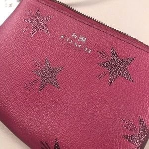 Star Canyon CRN Zip Cranberry Wallet